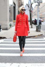 παλτό CHERISH RED - 1