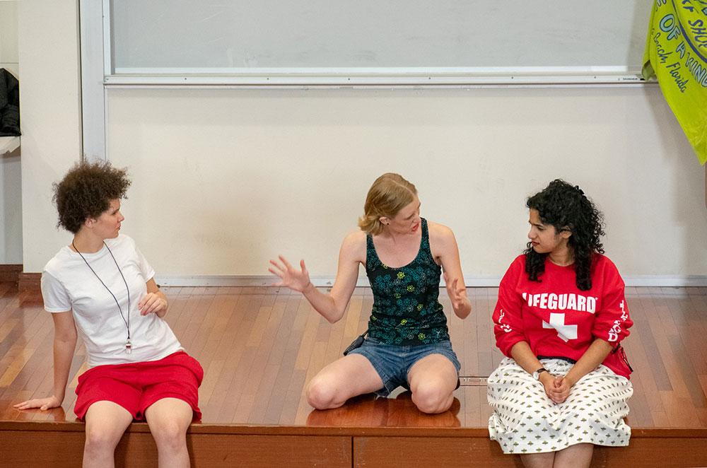 Ivey Barr as Despina (Così Fan Tutte, Comet Opera 2018). Photo by Andrue Guerrero.