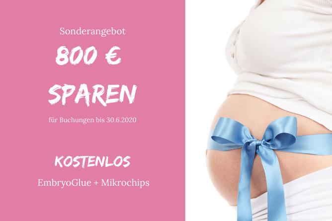 Sparen 800 Eur - IVF and Eizellspende in Prag