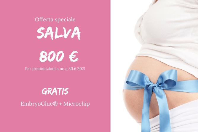 MICROCHIP E EmbryoGlue GRATIS Ovodonazione IVF All'estero a Praga