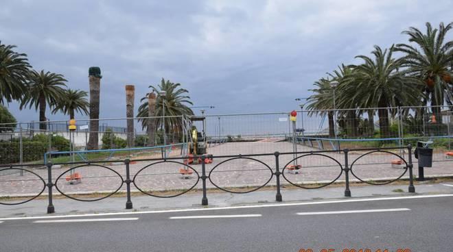 Spotorno polemica sulla terrazza a mare il cantiere durante la stagione estiva  IVGit