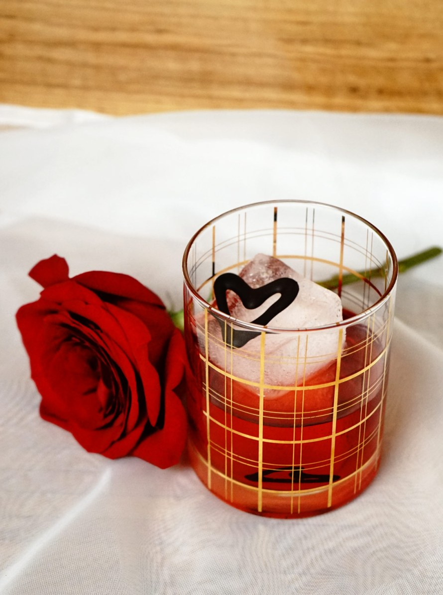 Chocolate Negroni Rose