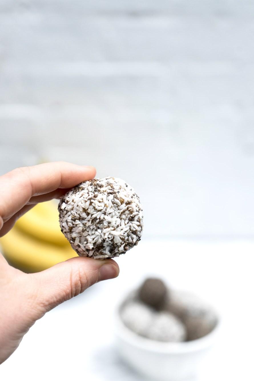 Almond Banana Balls