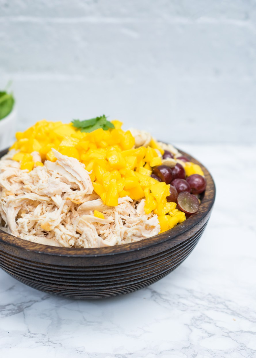 Curried Mango Chicken Salad