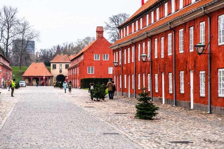 Copenaghen, le caserme del Kastellet