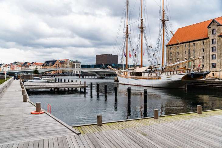 Christianshavn, vista su canale