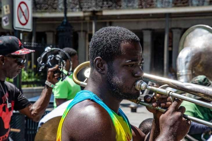 music jazz improvvisata in Jackson Square