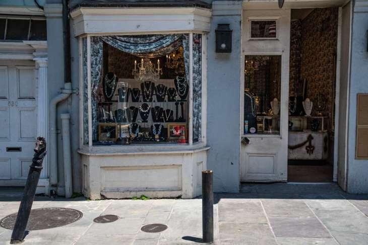 tipiche vetrine del French Quarter