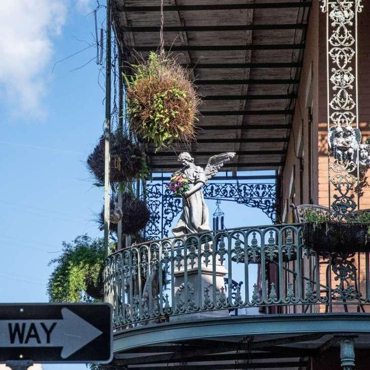 balconate di New Orleans