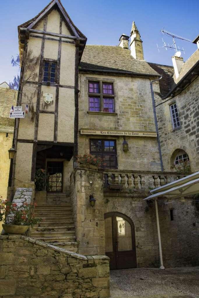 Sarlat  case medievali