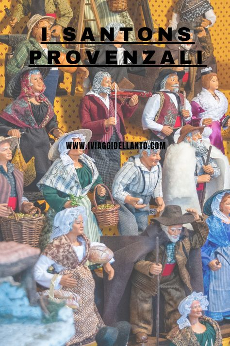 I santons provenzali, simbolo di tradizione e di identità