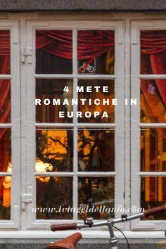 Fuga d'amore, 4 mete romantiche in Europa