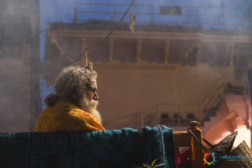 Un istante del Ganga Aarti