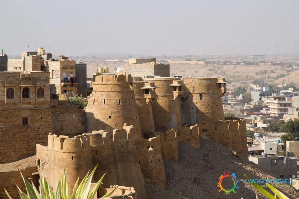 Jaisalmer e i suoi Bastioni