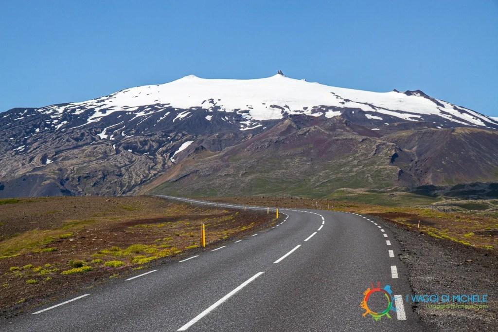 Islanda, vulcano Snæfellsjökull - Viaggio On The Road