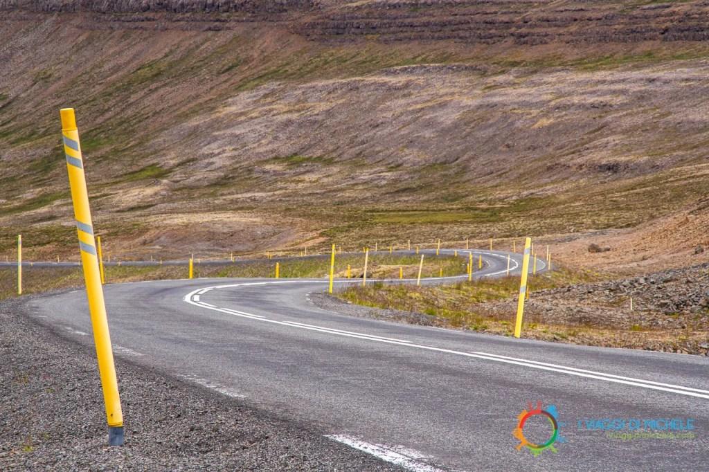 Una strada islandese - Viaggio On The Road