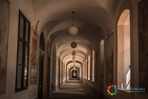 Corridoi dell'Ospedale Barocco di Kuks