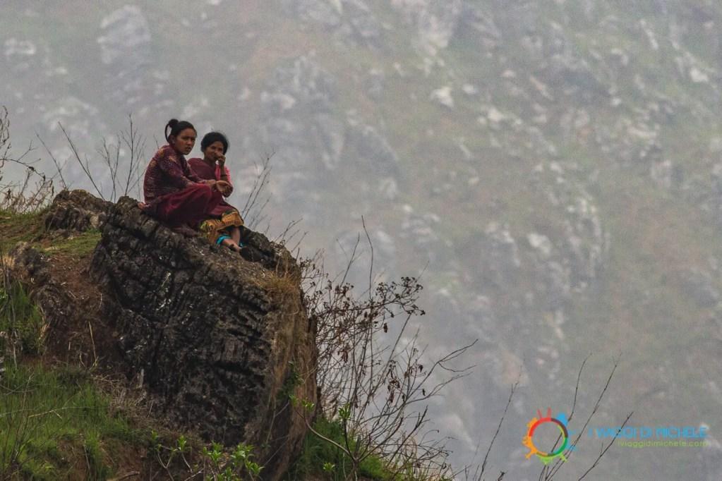 Sorvegliando un pascolo in alta montagna - Bandipur