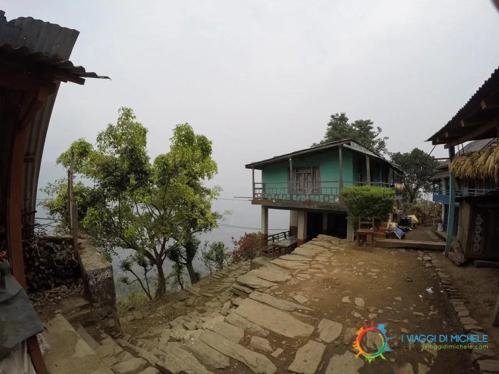 Il primo villaggio che ho incontrato