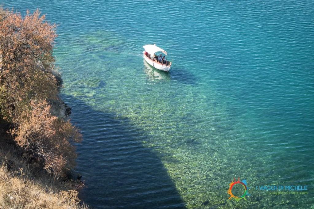 Le acque adiacenti al promontorio di San Giovanni Kaneo