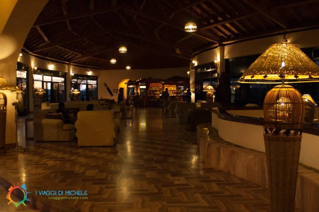 Una grande hall pronta ad accoglierti a qualsiasi ora - Tarangire Sopa Lodge - Tanzania