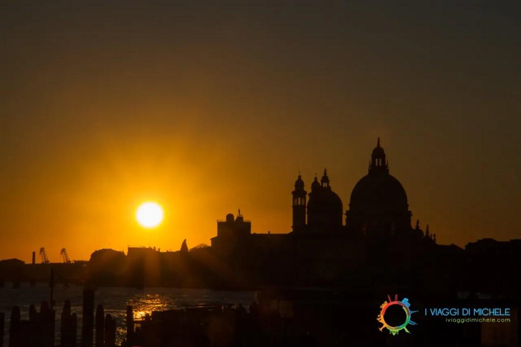 Un tramonto a Venezia