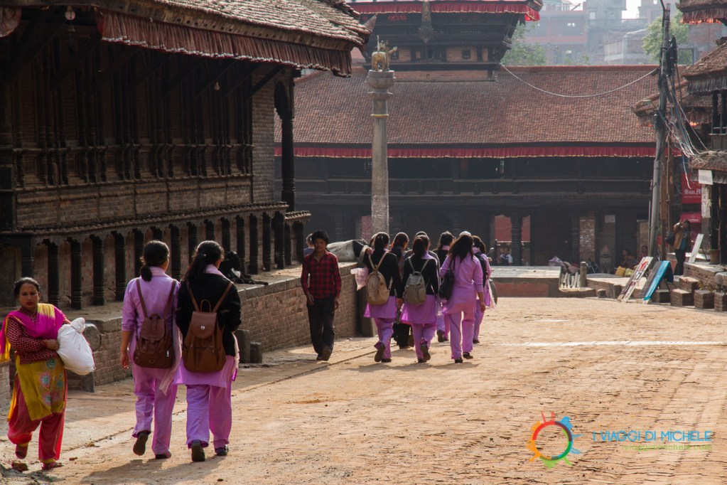 Tachupal Tole - Scolaresca - Bhaktapur