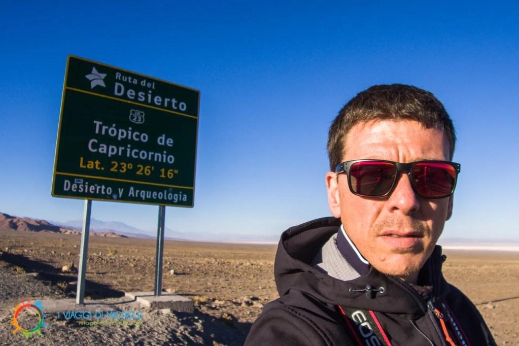Tropico del Capricorno - Deserto de Atacama