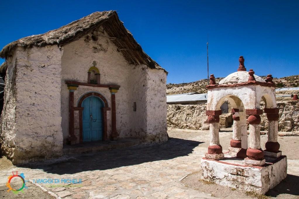Parinacota Chiesa del XVII secolo