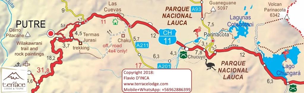 Parque Nacional Lauca - Putre