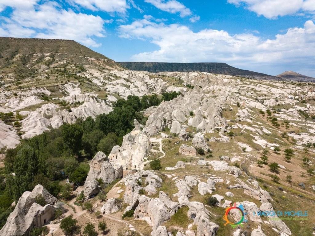 Insediamento attorno al Monastero di Keslik - La Cappadocia