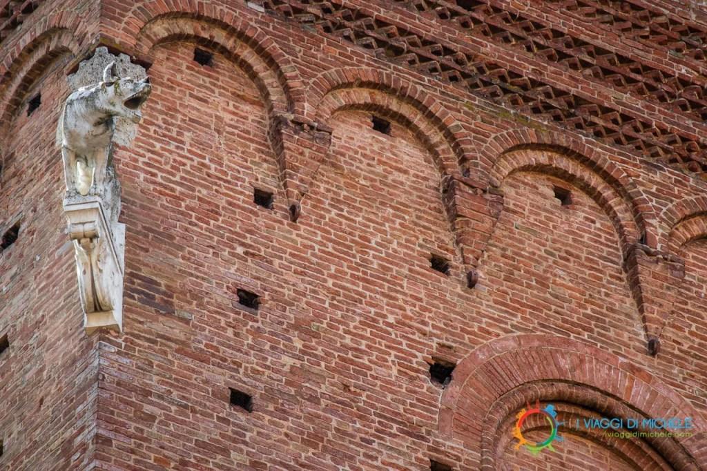Particolare del Palazzo Comunale di Siena - Visitare Siena