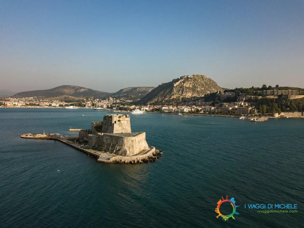 Castel de Mar, Nauplia e la Fortezza di Palamidi