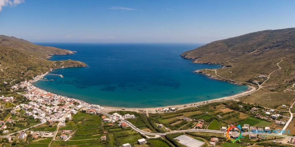 Korthi Bay - Milos Beach - Isola di Andros