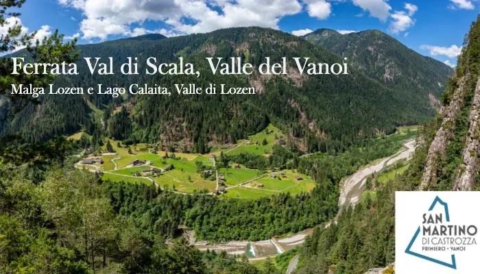 Immagine articolo Ferrata Val di Scala