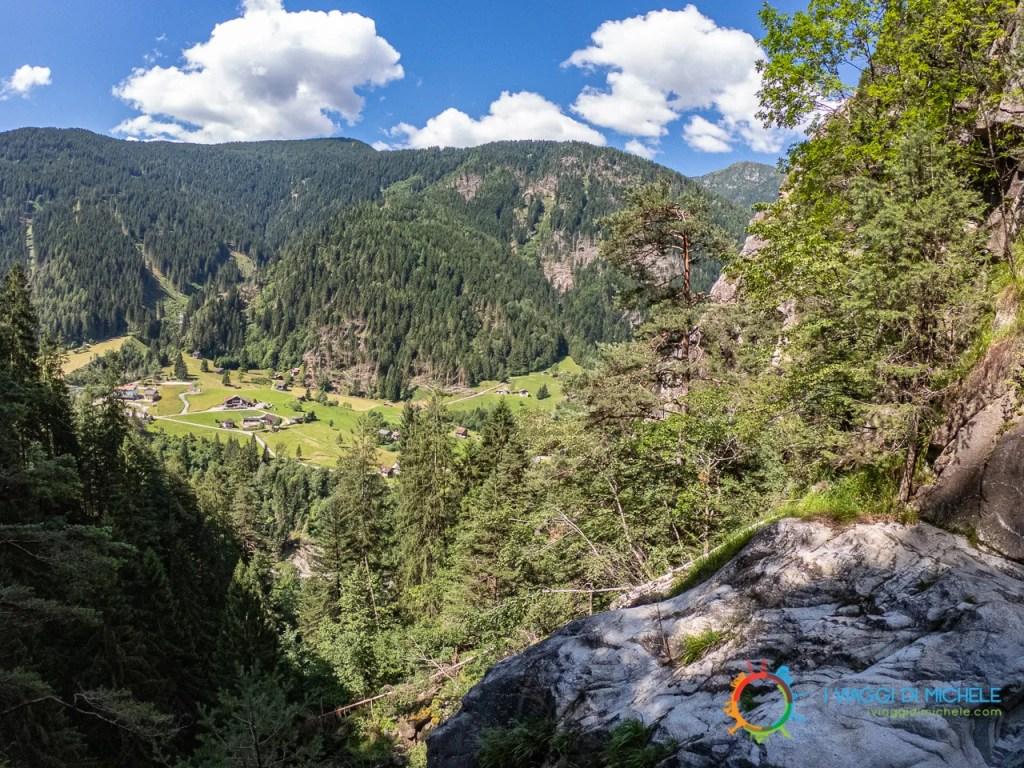 Ferrata val di Scala - Valle del Vanoi