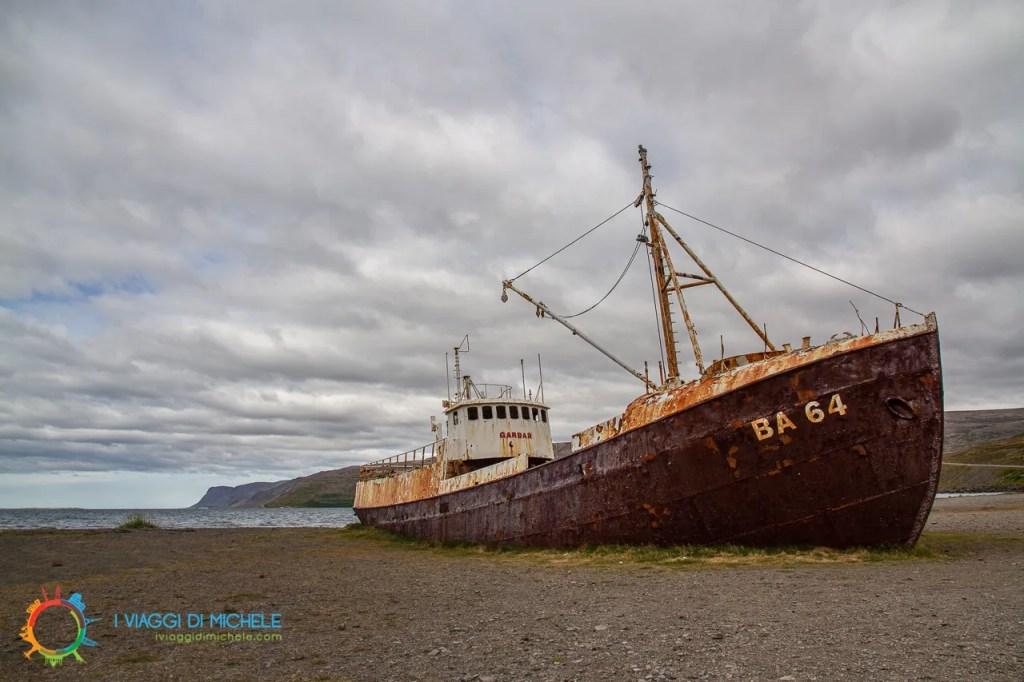 Relitto di Patreksfjörður - Garðar BA 64