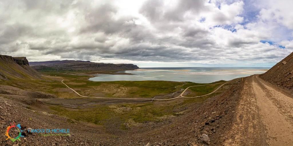 Affaccio sulla spiaggia di Rauðisandur - Fiordi Occidentali