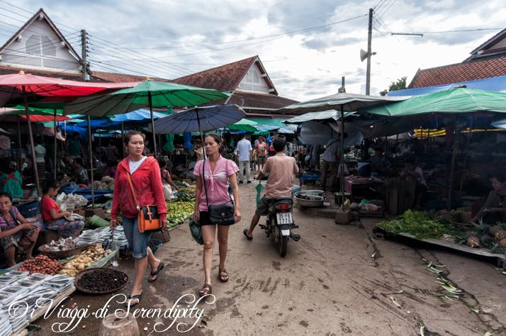 Luang Prabang mercato Phousi ingresso