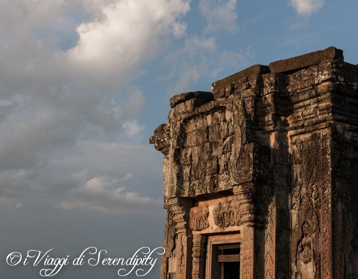 Il tramonto su Angkor Wat