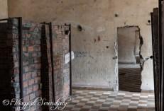 Tuol Sleng Museum Scuola Prigione celle