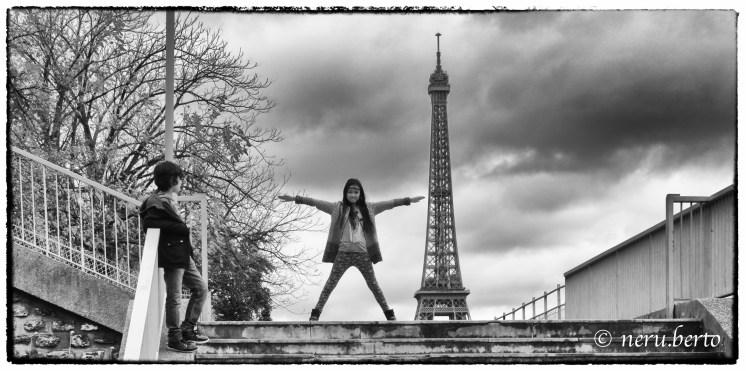 Torre Eiffel Parigi foto artistica
