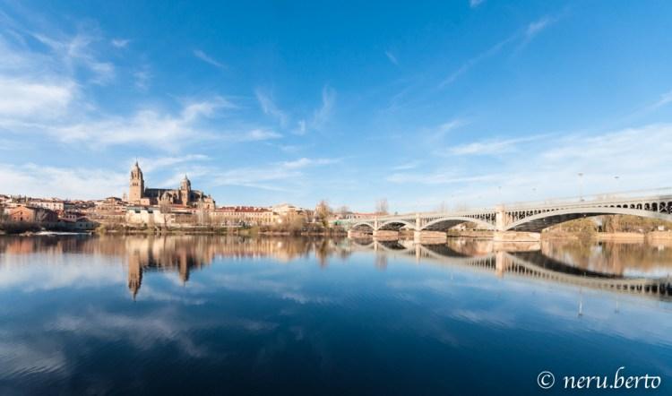 Salamanca vista da Rio Tormes