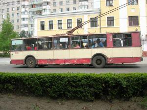 Bus a Tiraspol Transnistria