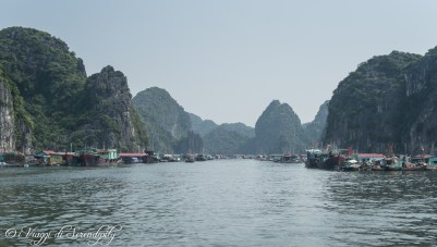 Ha Long Bay villaggio pescatori
