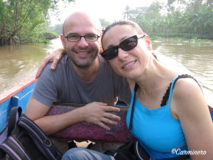 Linda e Paolo la Viaggiointervista Linda viaggiatrice