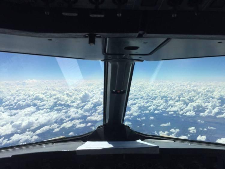 Fuori dal finestrino aereo Australia