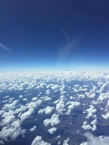 Volando sul mondo paesaggio finestrino Australia