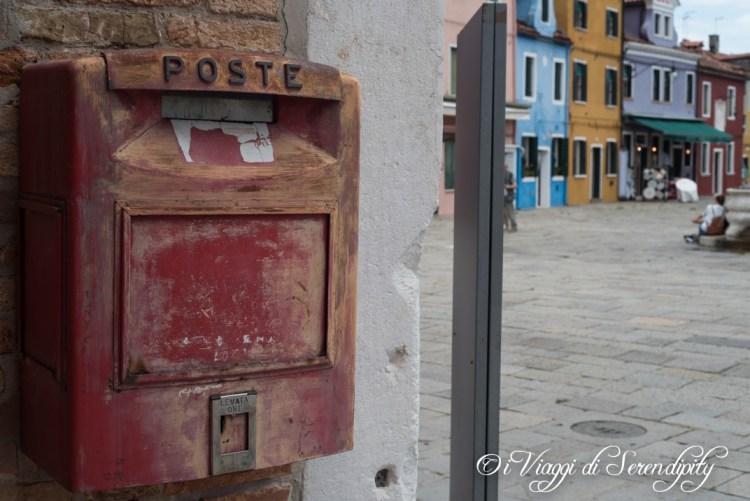 Burano cassetta della posta