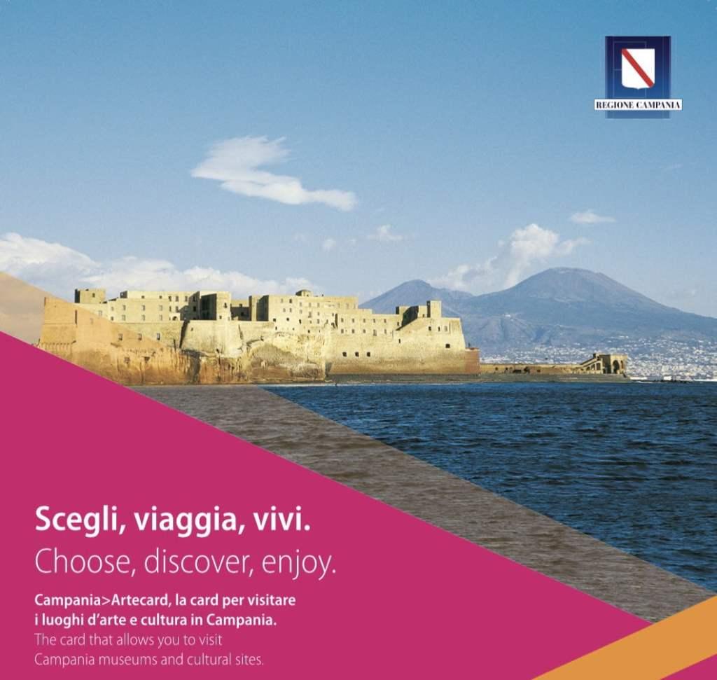 Campania Artecard per visitare gratis Napoli e la Campania